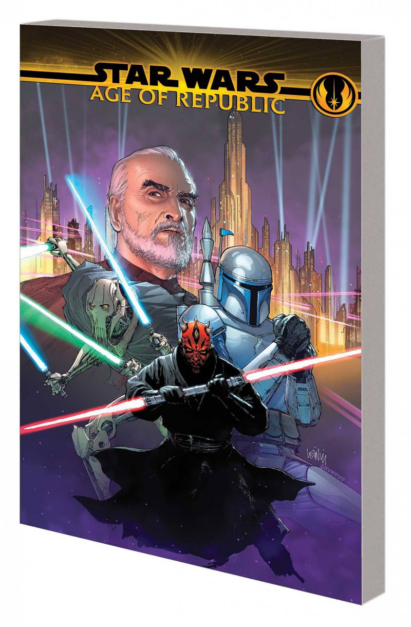 Star Wars TP Age of Republic Villains