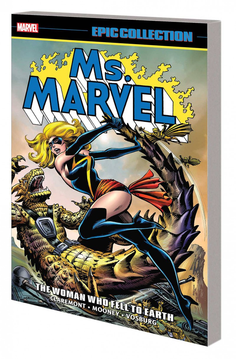 Ms Marvel TP Epic Collection Woman Who Fell To Earth