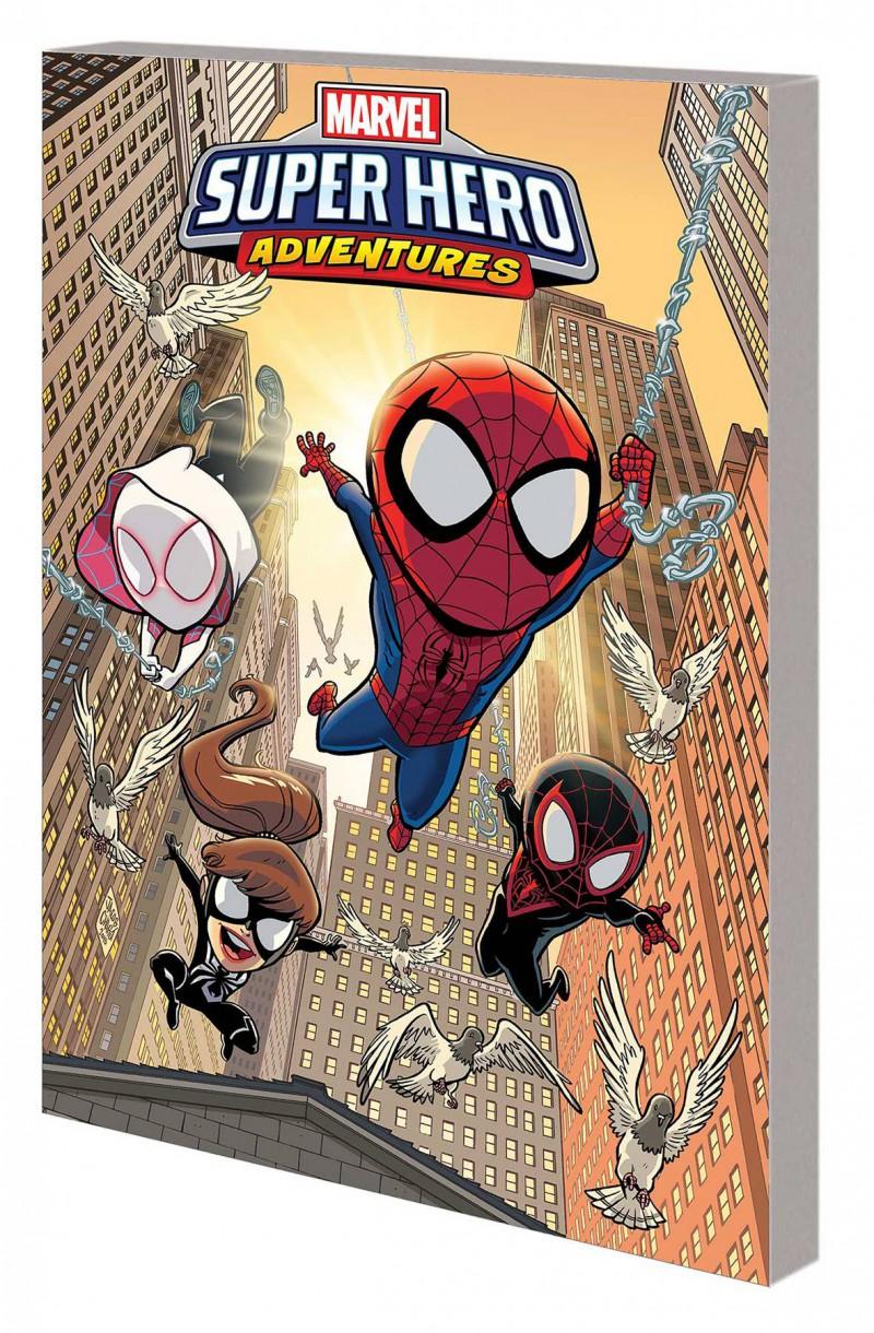 Marvel Super Hero Adventures TP Spider-Man