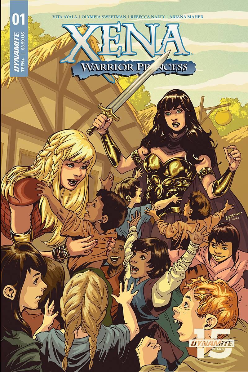 Xena Warrior Princess  #1 CVR B Lupacchino