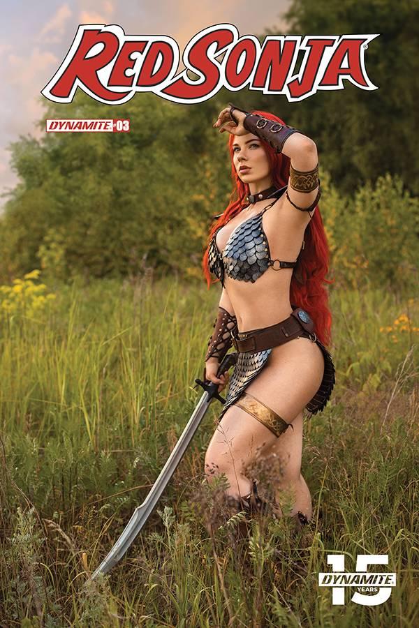 Red Sonja  #3 CVR E Cosplay
