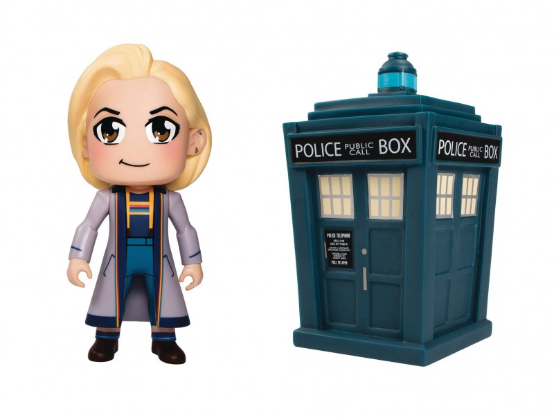 Doctor Who Titans 2 Pack Set 13th Doctor and Tardis