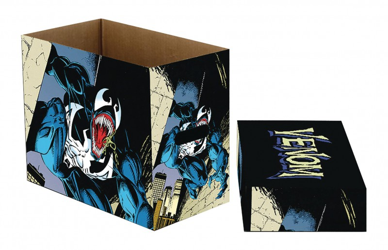 Marvel Comics Short Box Venom