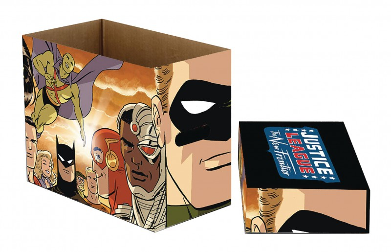 DC Comics Short Box New Frontier