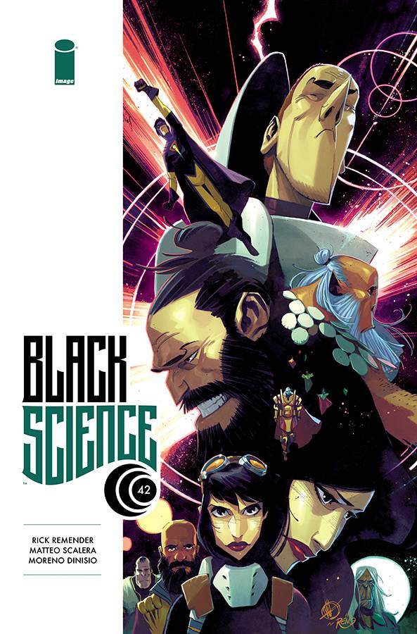 Black Science #42 CVR A Scalera