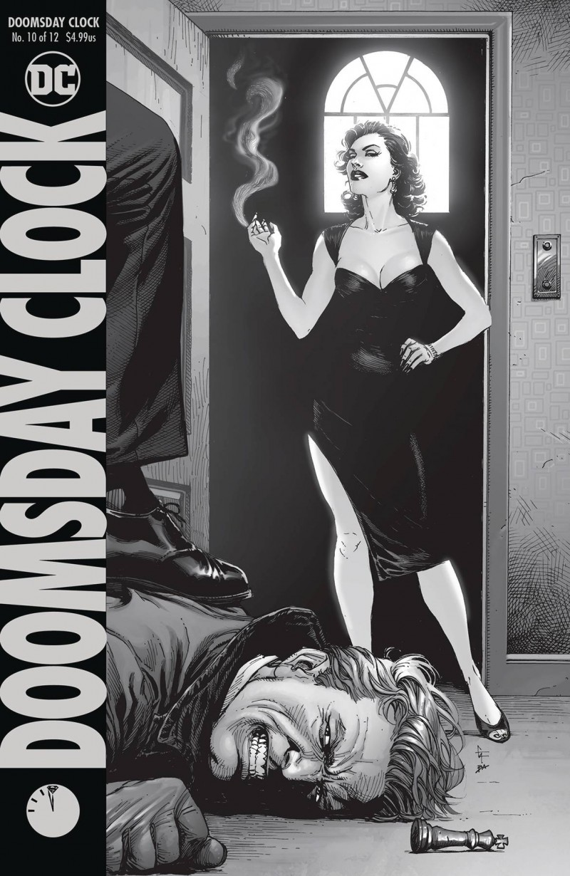 Doomsday Clock #10 CVR A