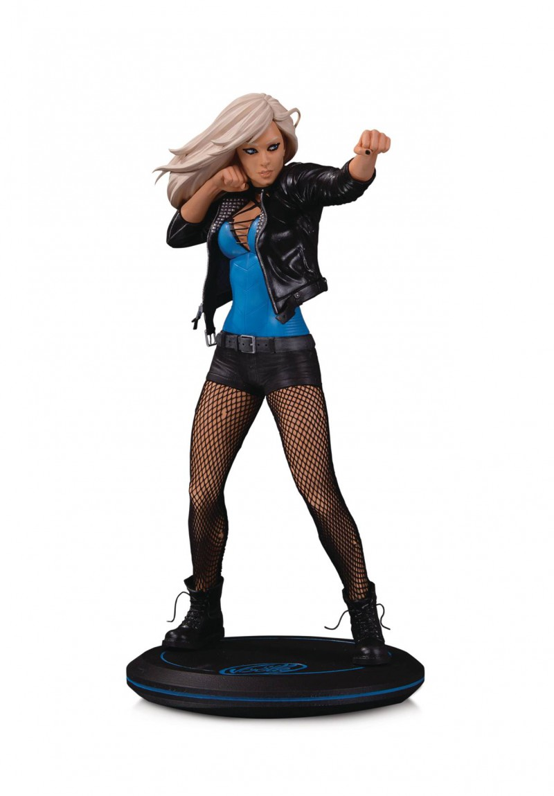 DC Statue Cover Girls Black Canary By Joelle Jones