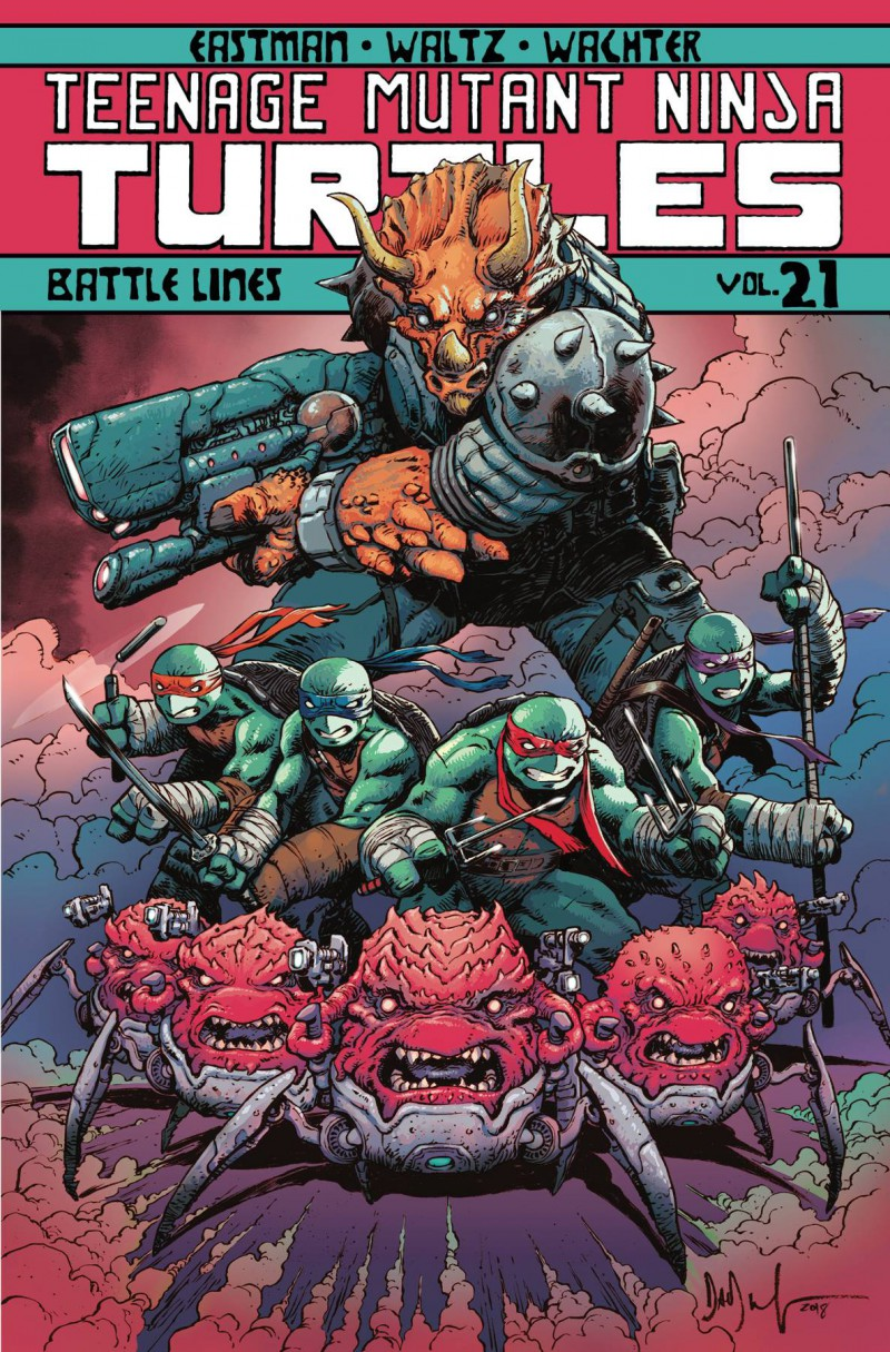 TMNT TP Ongoing V21 Battle Lines