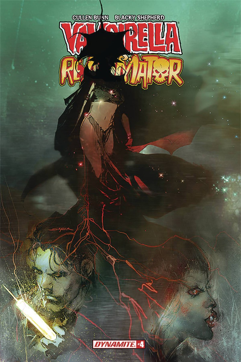 Vampirella Reanimator #4 CVR B Sayger