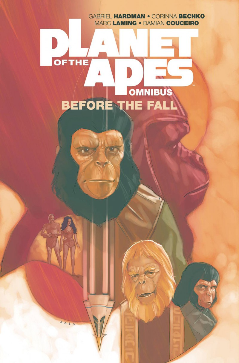 Planet of Apes TP Before Fall Omnibus Edition