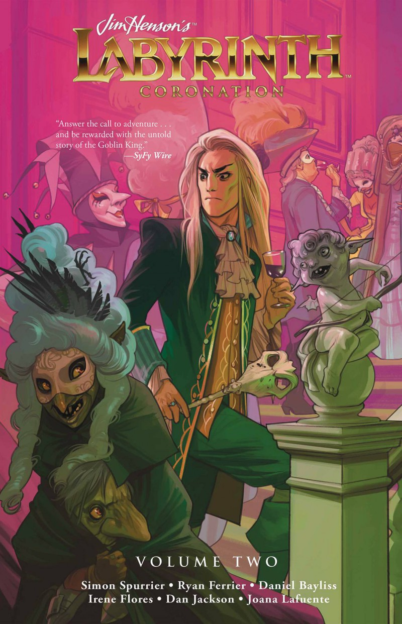 Jim Henson Labyrinth HC Coronation