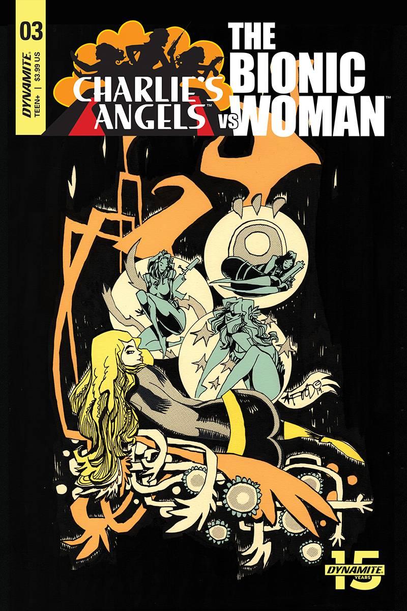 Charlies Angels Vs Bionic Woman #3 CVR B Mahfood