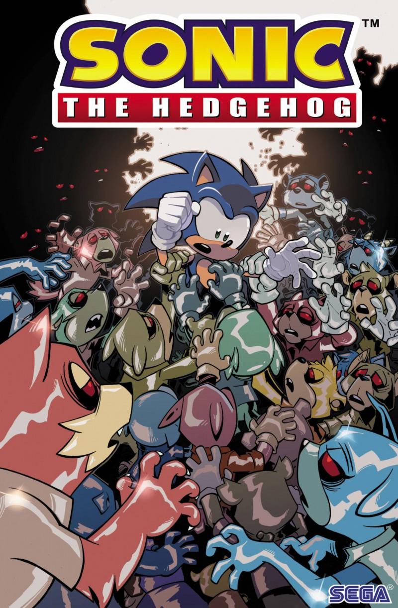 Sonic the Hedgehog  #20 CVR A Yardley