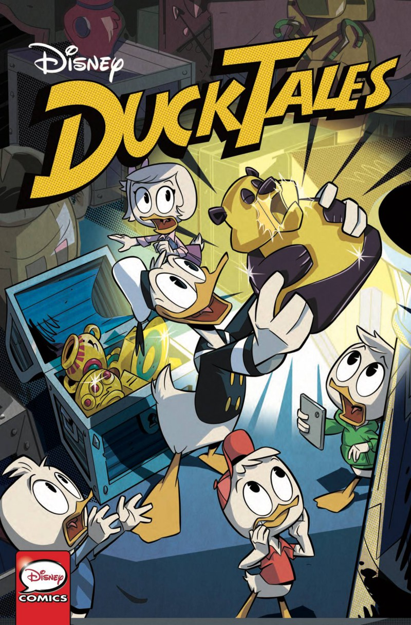 Ducktales Silence and Science #1 CVR A Ghighlione
