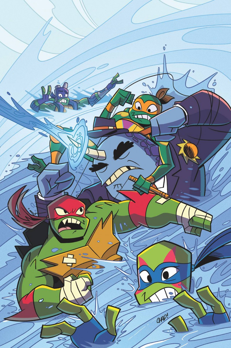 TMNT Rise of Tmnt Sound Off #2