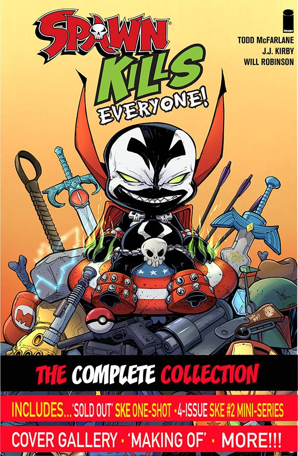 Spawn Kills Everyone TP Complete Collection