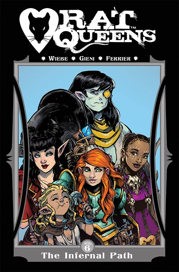 Rat Queens TP V6 Infernal Path
