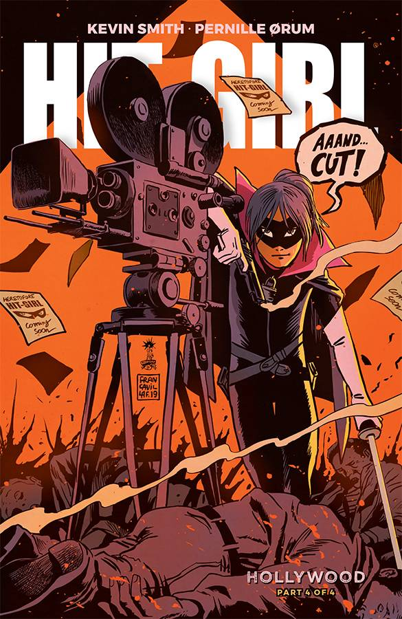 Hit-Girl Season Two #4 CVR A Francavilla