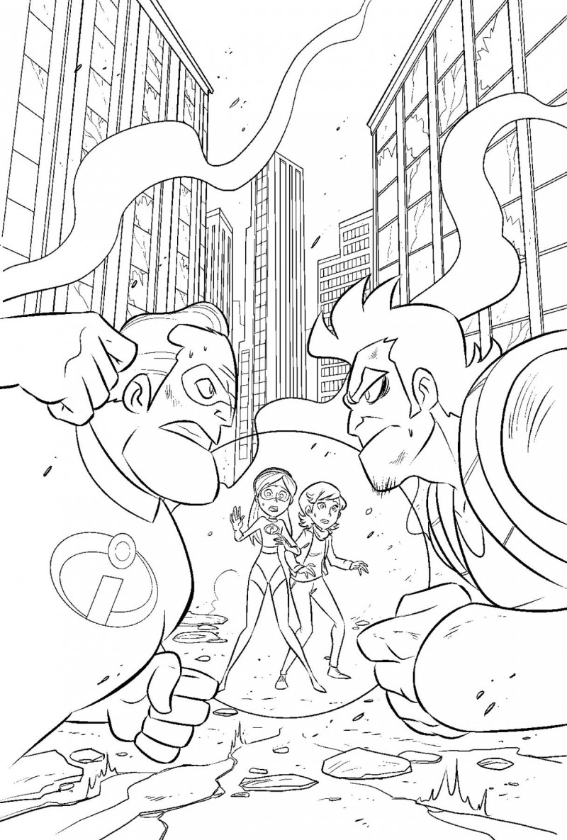 Disney Incredibles 2 Secret Identities #2 CVR A