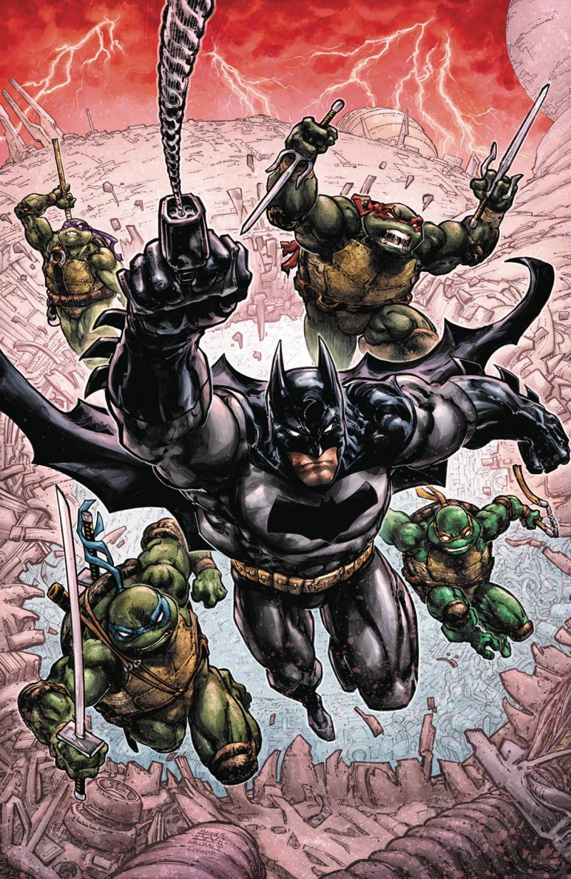 Batman Teenage Mutant Ninja Turtles III #1 CVR A