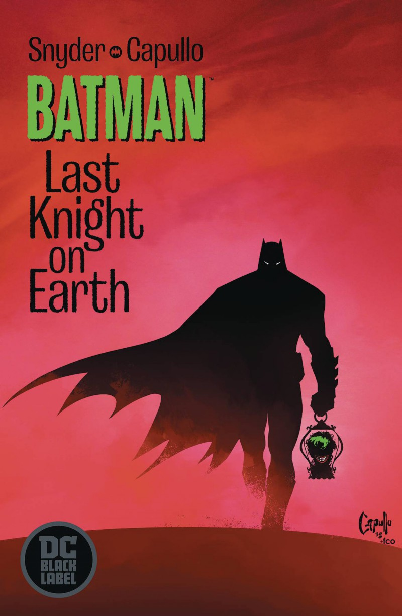 Batman Last Knight on Earth #1 CVR A