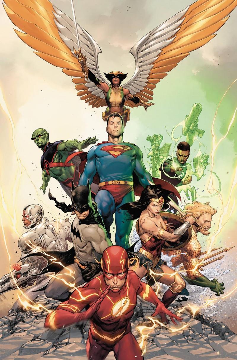 Justice League  #23 CVR B
