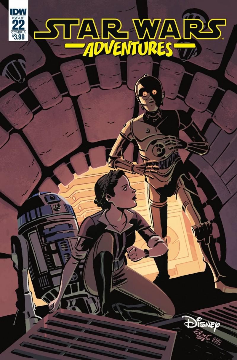 Star Wars Adventures #22 CVR A Charretier