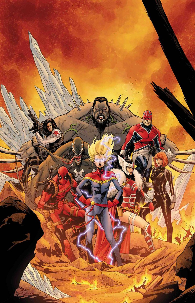 War of Realms Strikeforce War Avengers #1