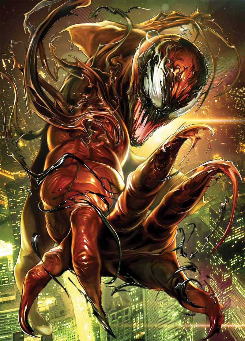 Venom  #14 Maxx Lim Marvel Battle Lines Var Wr