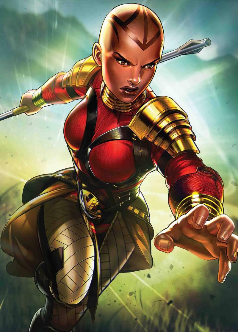 Black Panther  #12 Variant Heyjin Im Marvel Battle Lines