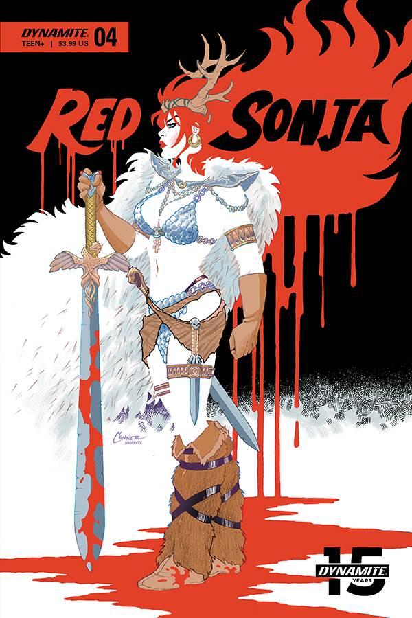 Red Sonja  #4 CVR A Conner