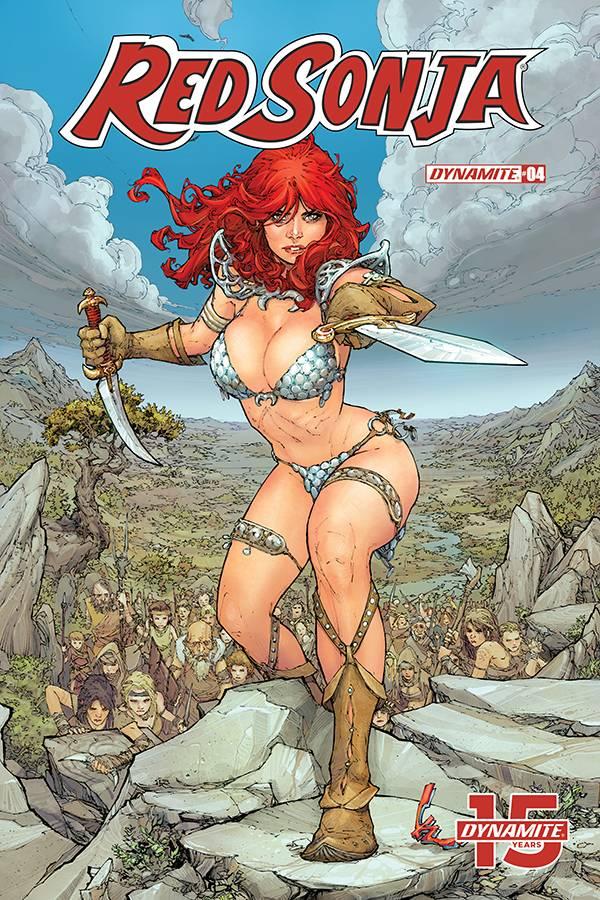 Red Sonja  #4 CVR D Rocafort