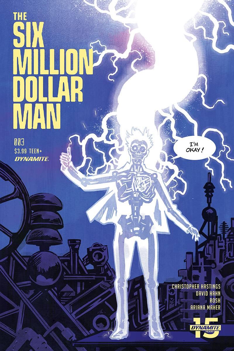 Six Million Dollar Man #3