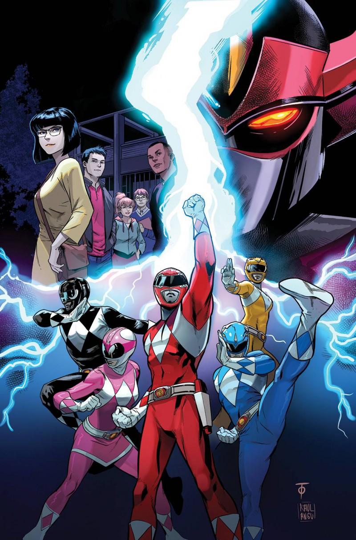 Go Go Power Rangers #20 CVR A