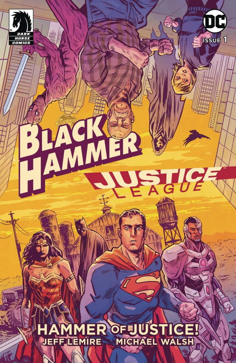 Black Hammer Justice League #1 CVR A Walsh