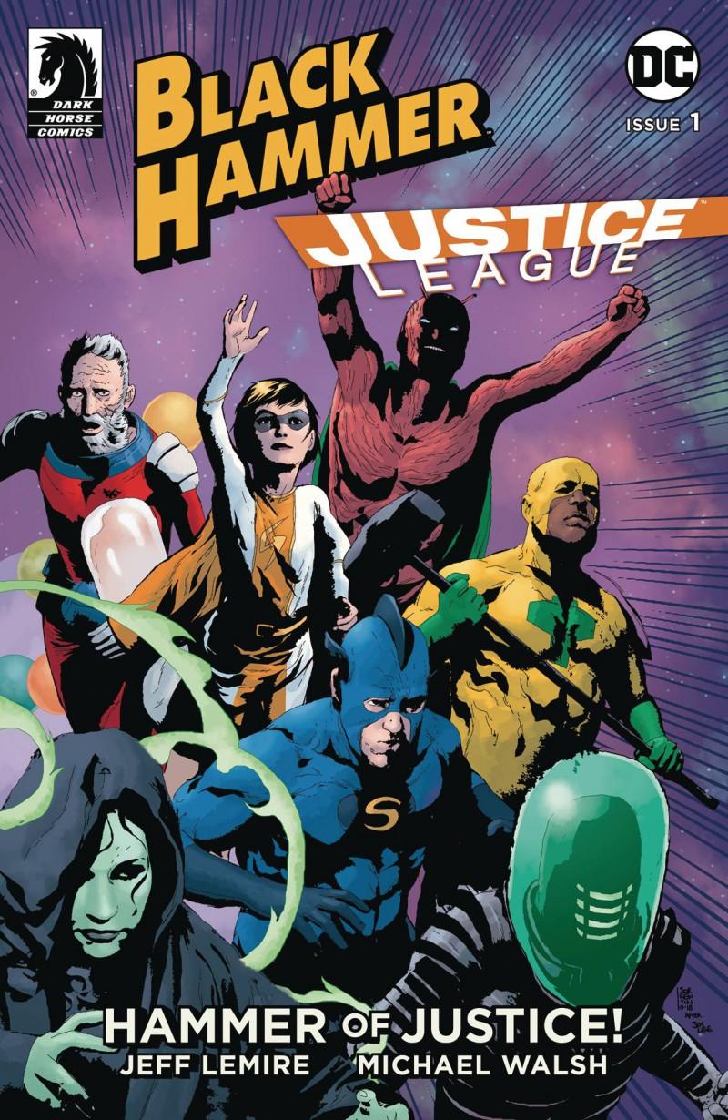 Black Hammer Justice League #1 CVR B Sorrentino
