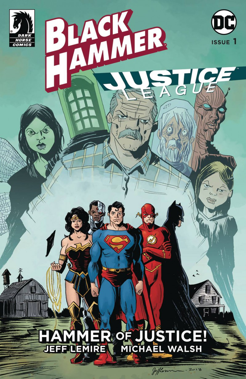 Black Hammer Justice League #1 CVR D Lemire