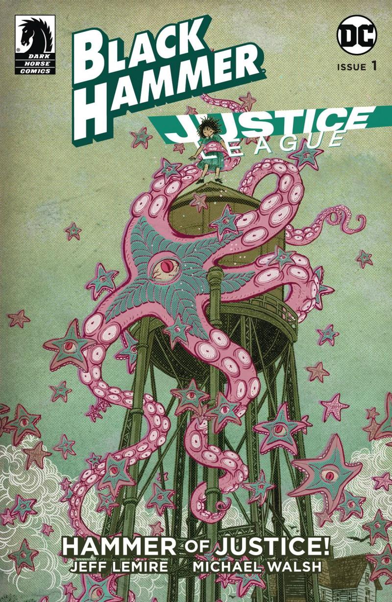 Black Hammer Justice League #1 CVR E Shimizu