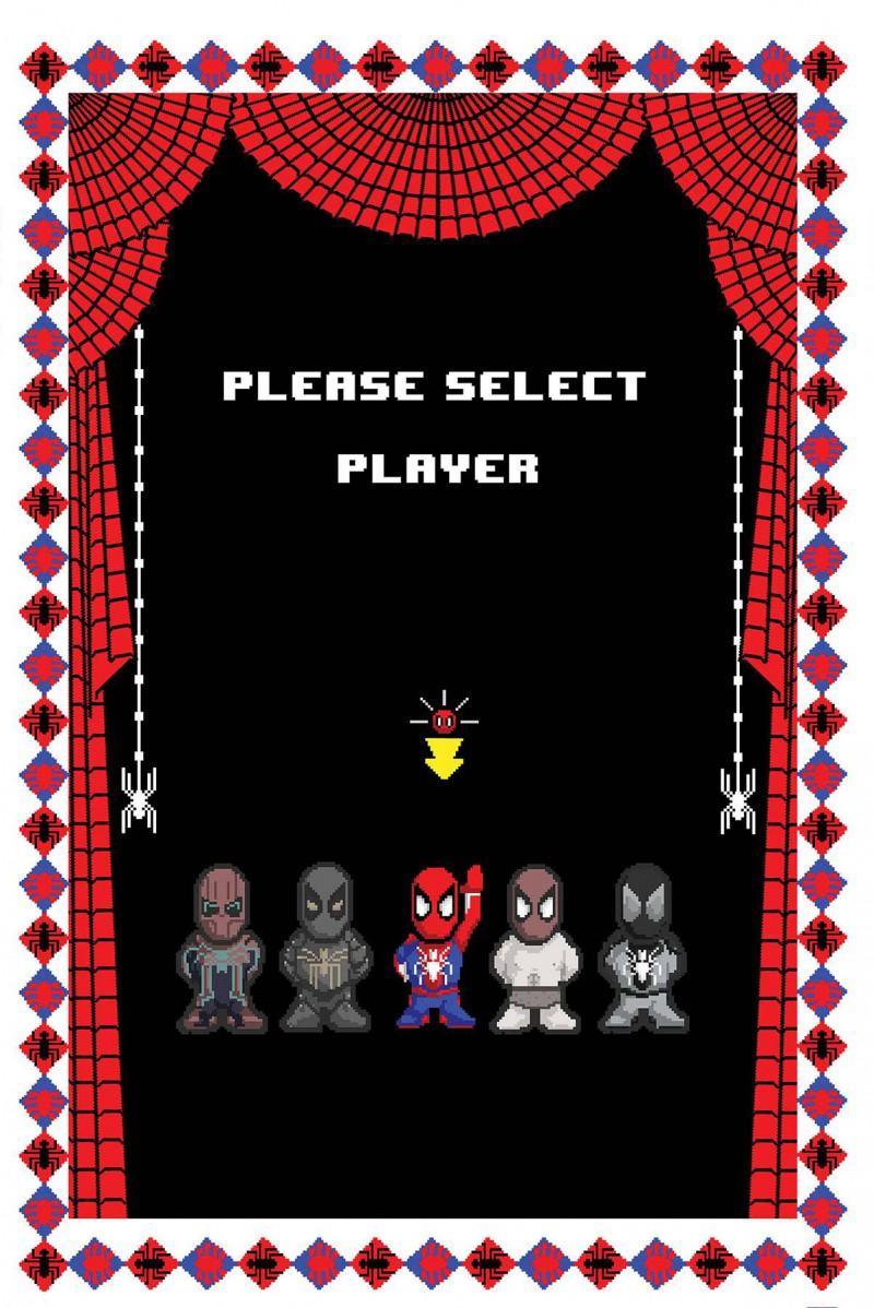 Spider-Man City At War #5 Variant Waite 8-bit