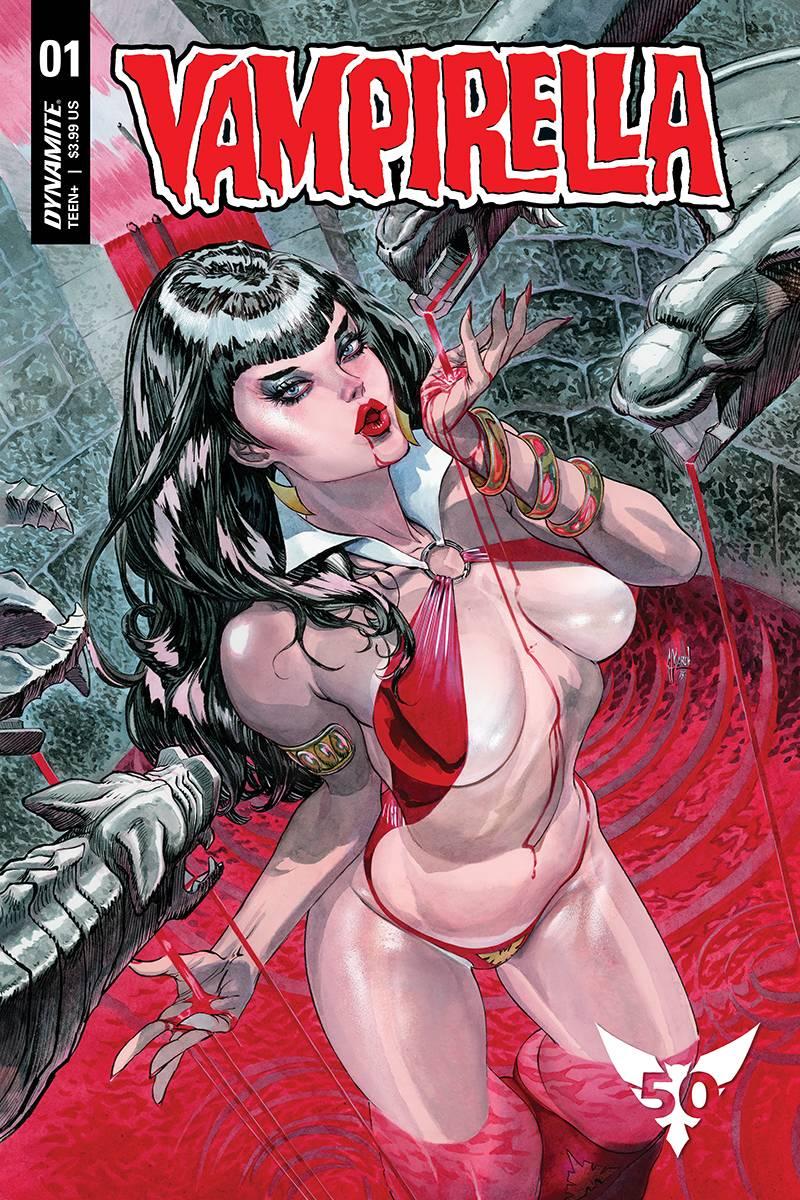 Vampirella  #1 CVR D March