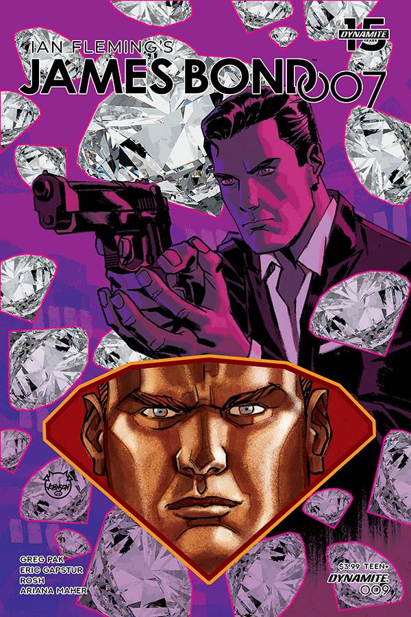 James Bond 007 #9 CVR A Johnson