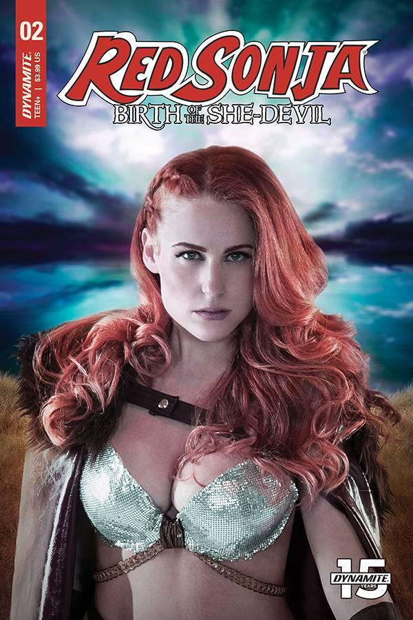 Red Sonja Birth of She Devil #2 CVR C Cosplay