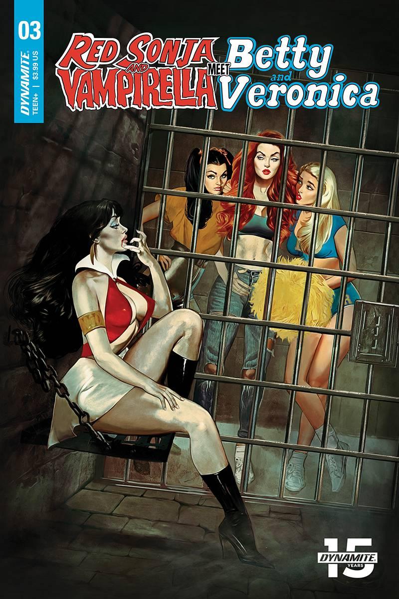 Red Sonja Vampirella Betty Veronica #3 CVR A Dalton
