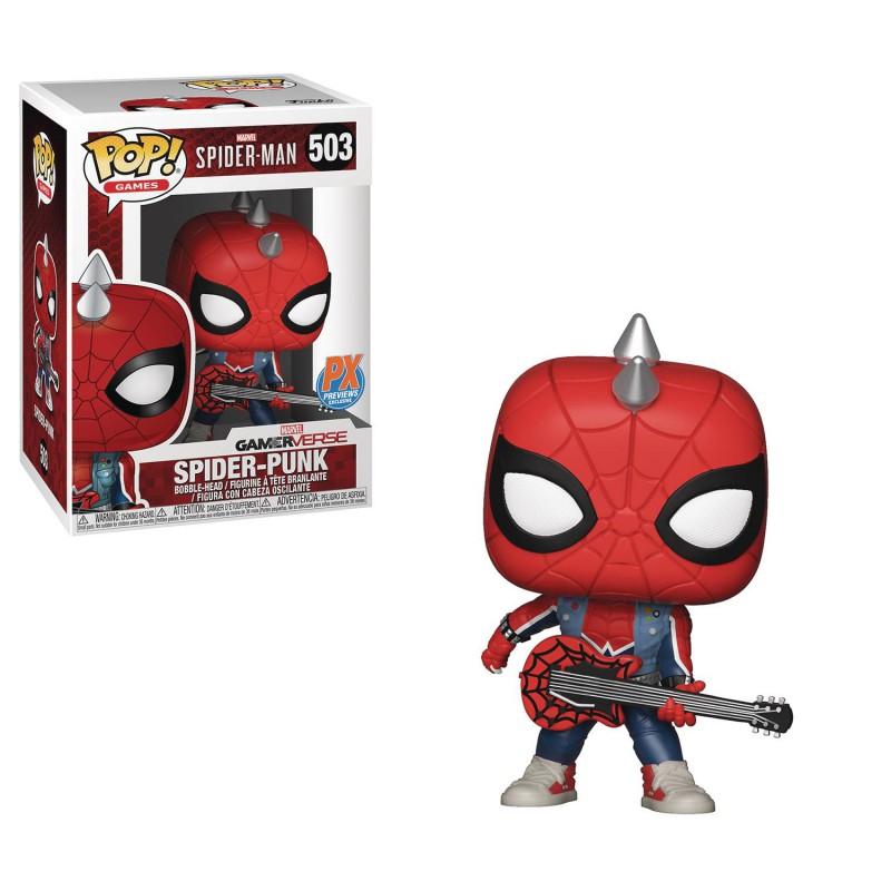 Funko Pop Marvel Spider-Man Punk PX