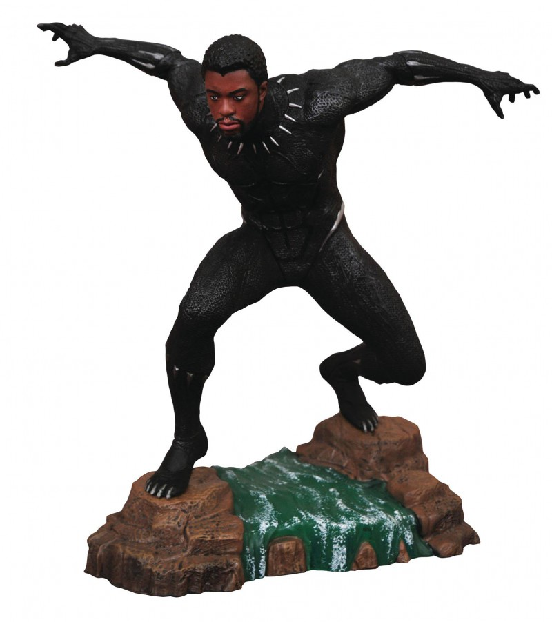 Marvel Gallery PVC Figure Black Panther Movie Unmasked