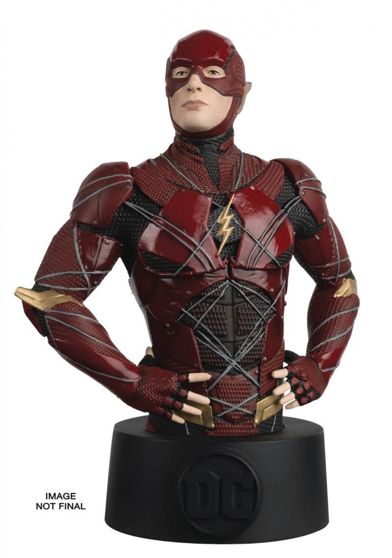 DC Statue Batman Universe Bust Collection #18 Justice League Flash