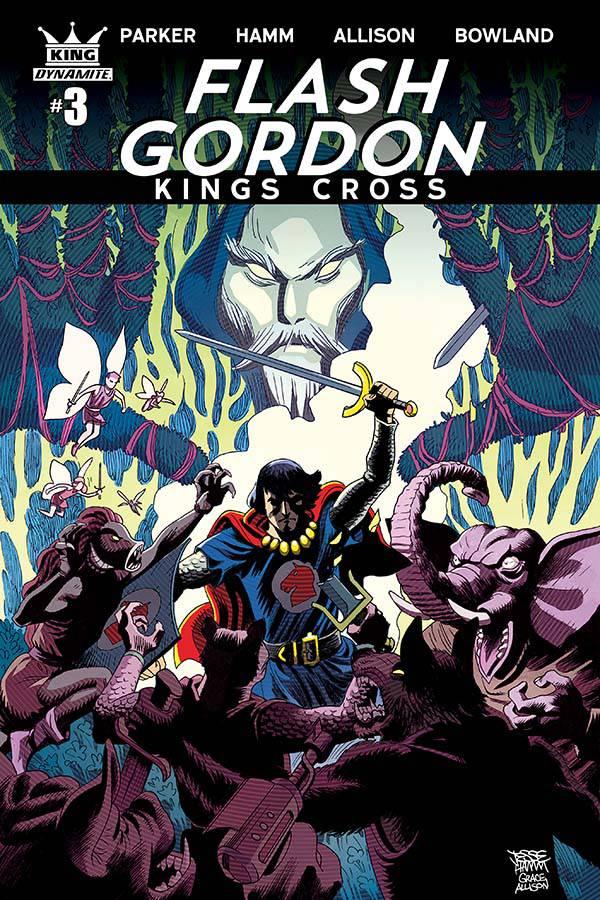FLASH GORDON KINGS CROSS #4