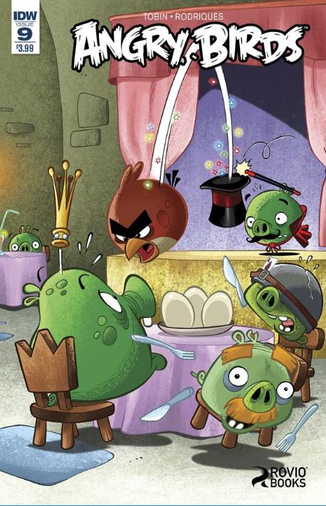 Angry Birds Comics Games Play #1