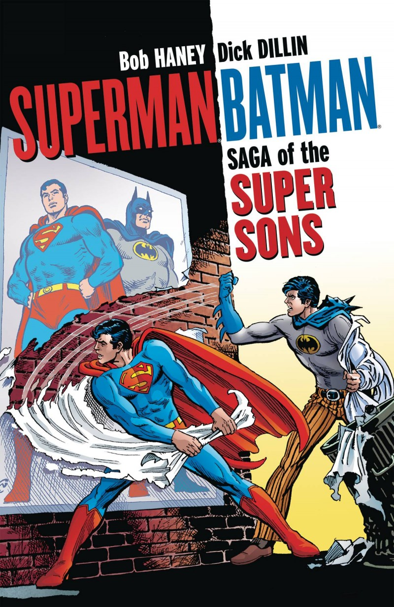 Superman Batman TP Saga of the Super Sons