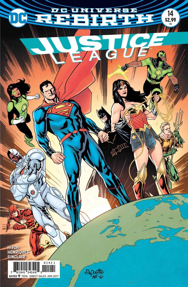 Justice League V2 #14 CVR B